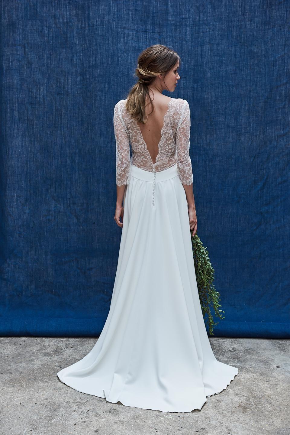 Свадебное платье 2018 с рукавами