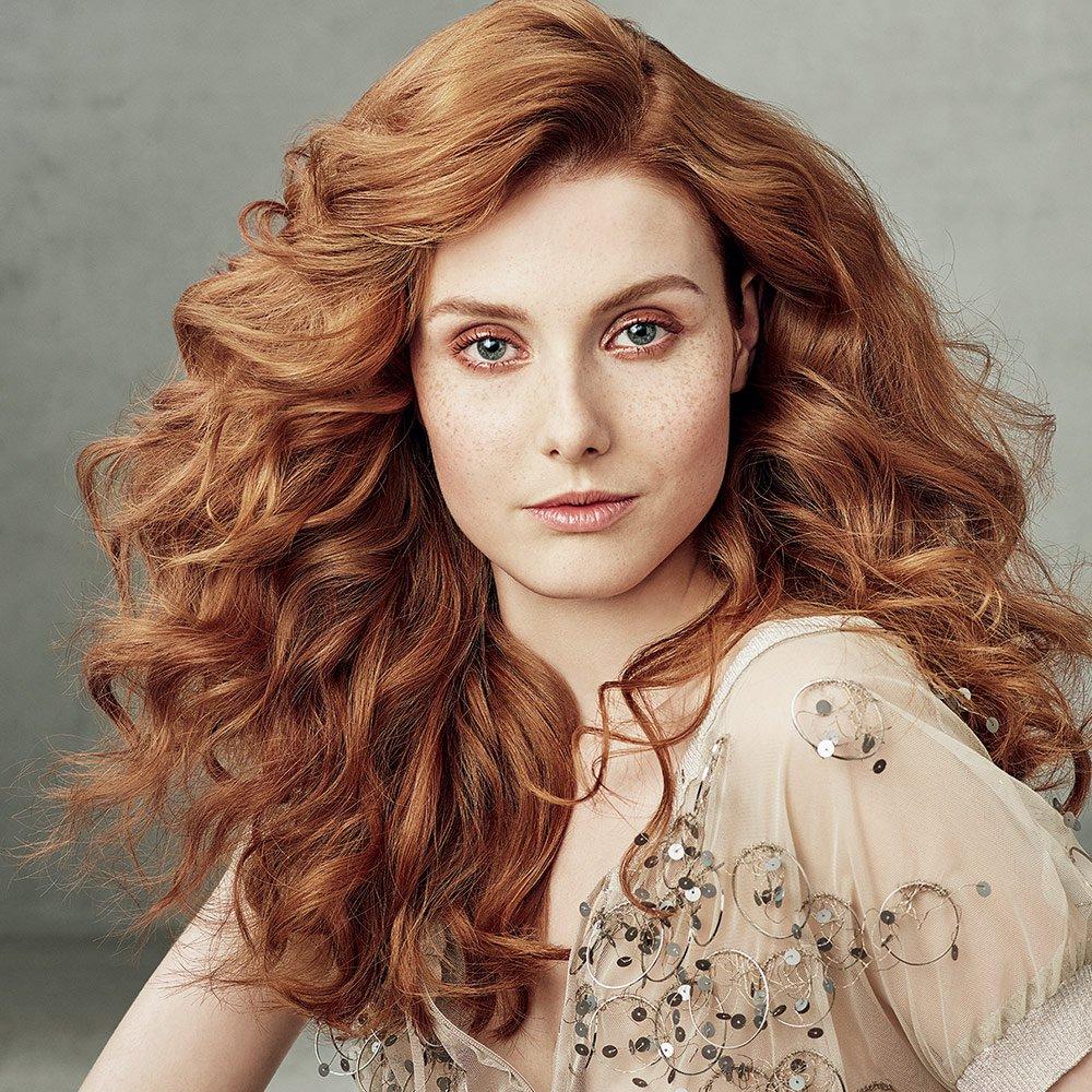 Окрашивание волос 2018 рыжие