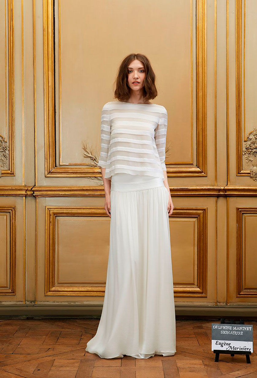 Свадебное платье 2018 шифоновое