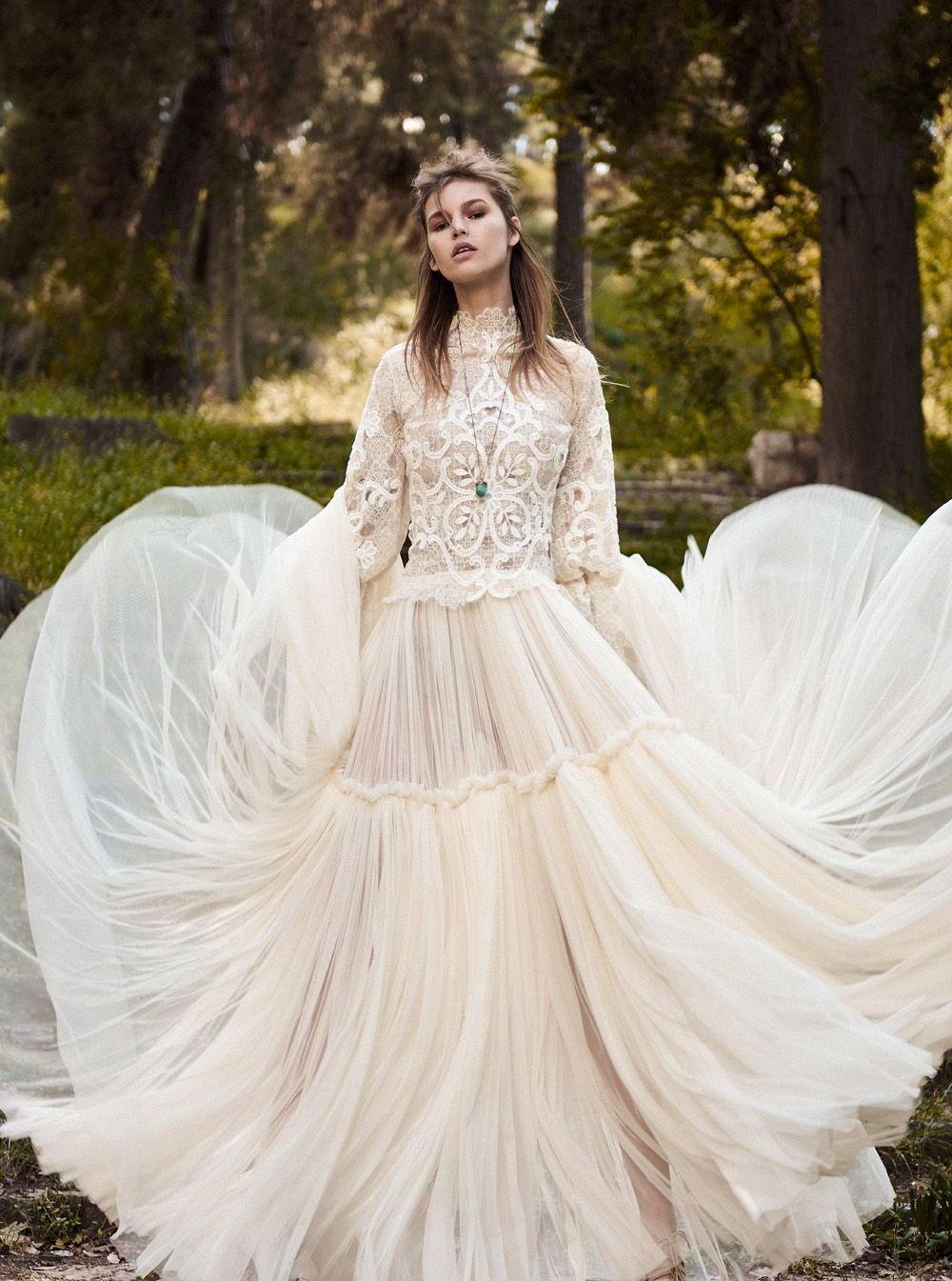 Свадебное платье 2018 с юбкой солнце