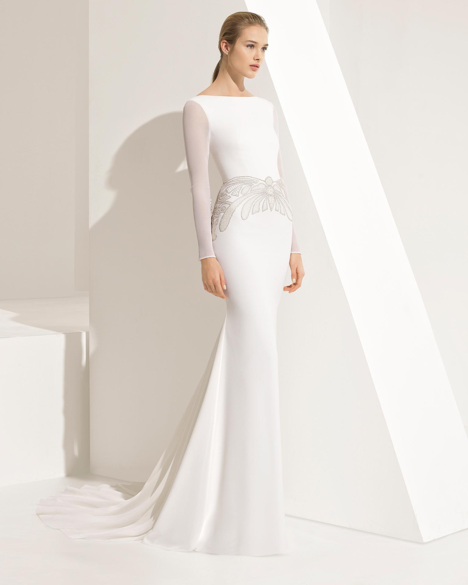 Свадебное платье 2018 со стразами