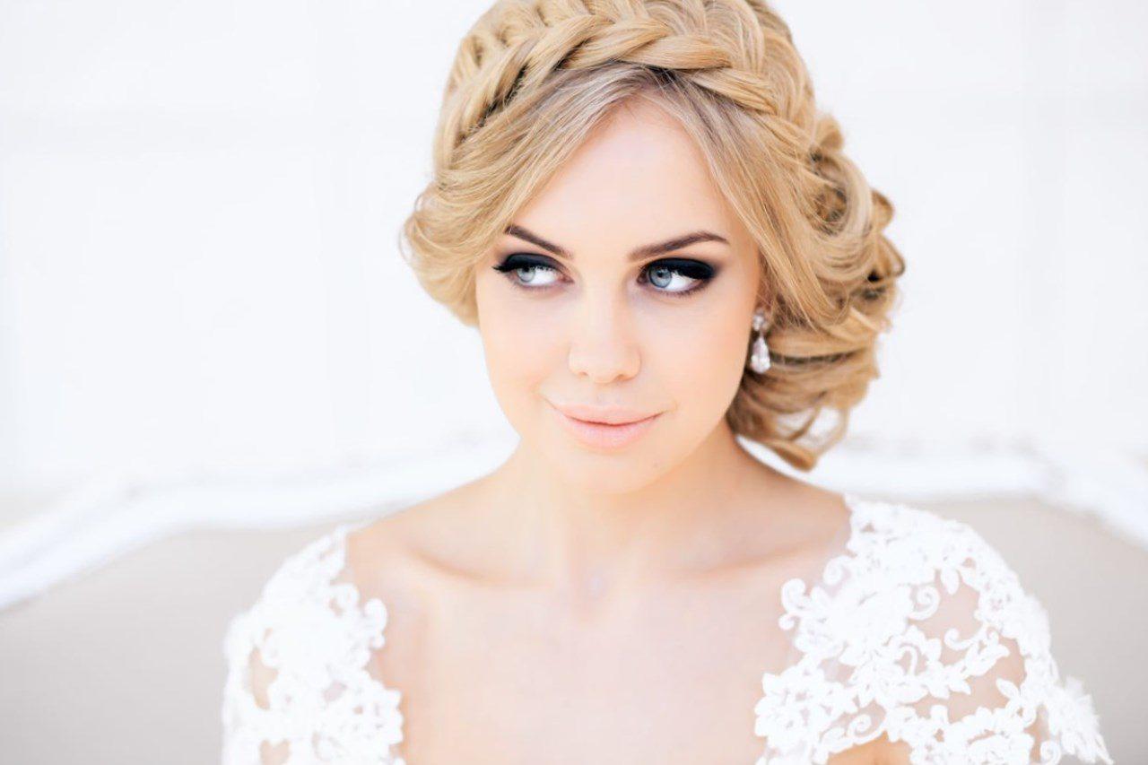 Макияж смоки свадебный
