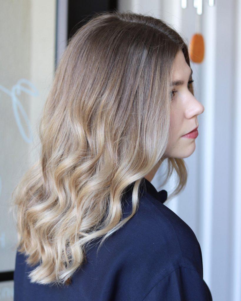 Окрашивание волос 2018 техники