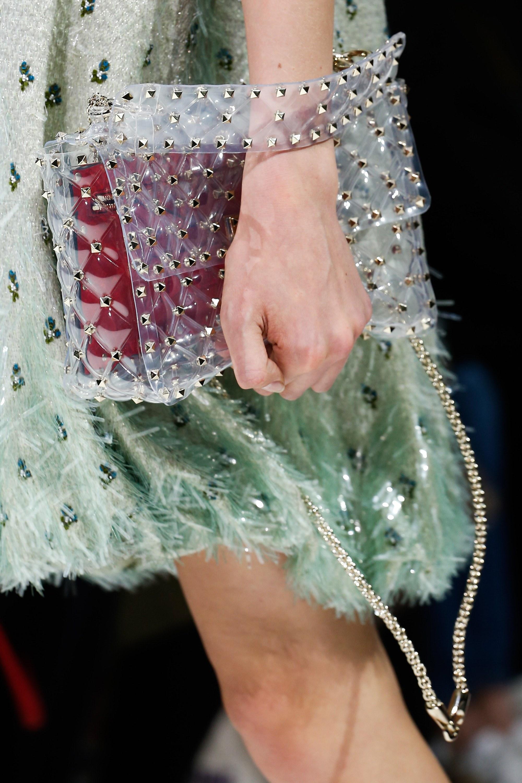 Бренды сумок Valentino прозрачная