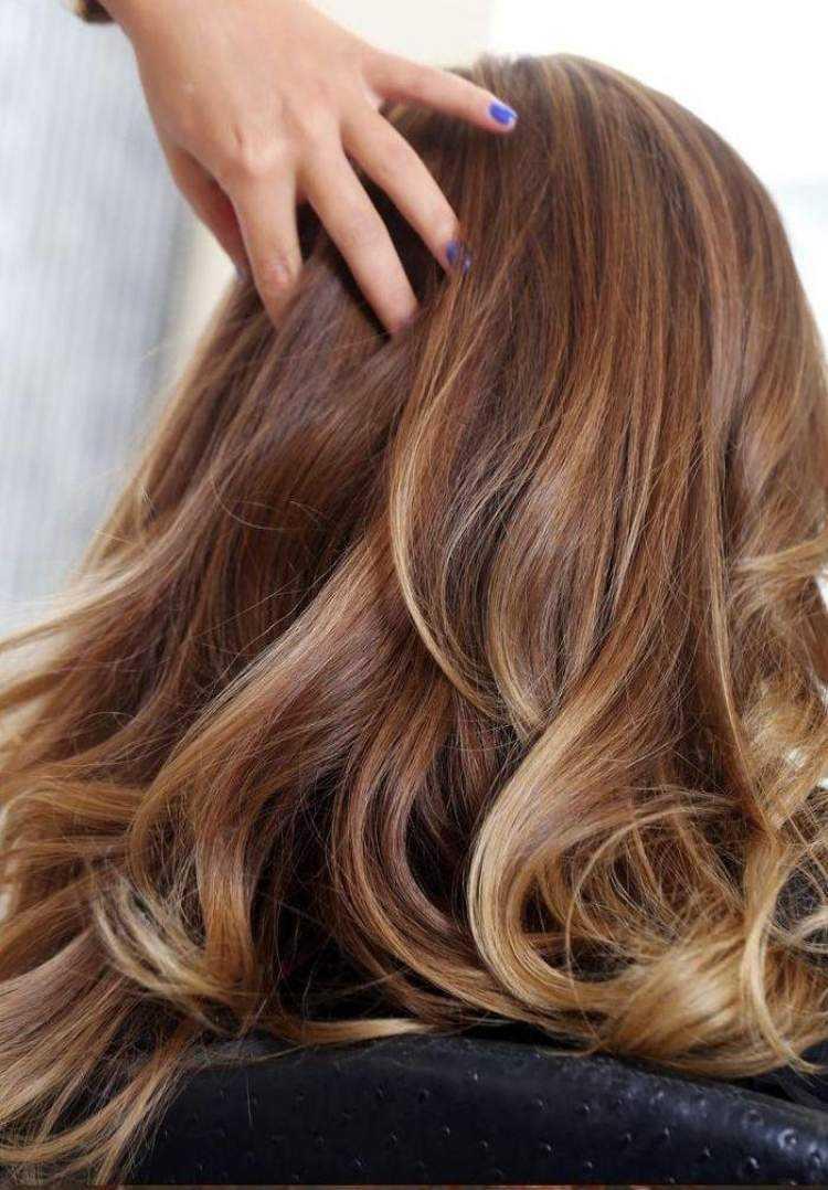 Окрашивание волос 2018 эффект выгорания
