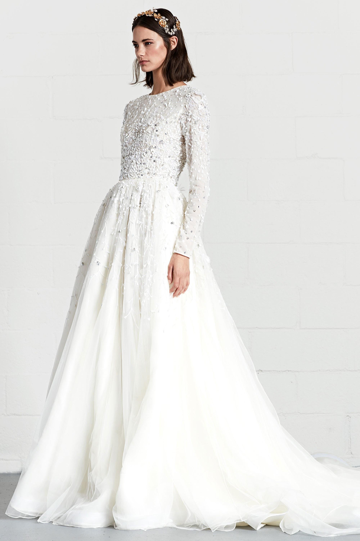 Свадебное платье 2018 с рукавом зимнее