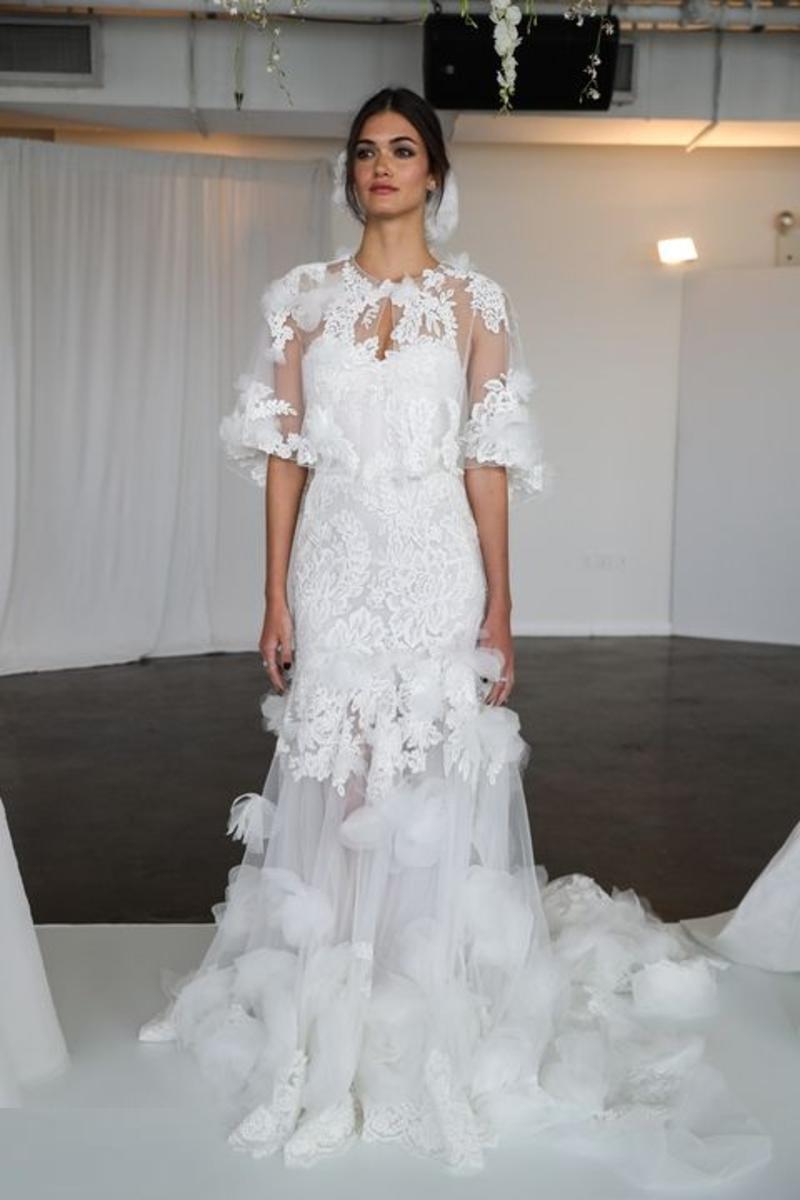 Свадебное платье 2018 зимнее
