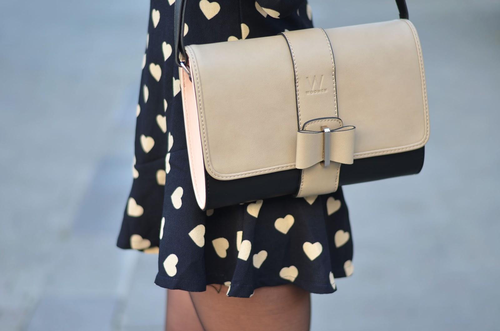 Классическая сумка с бантиком