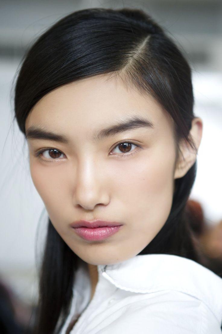 Корейский макияж с блеском