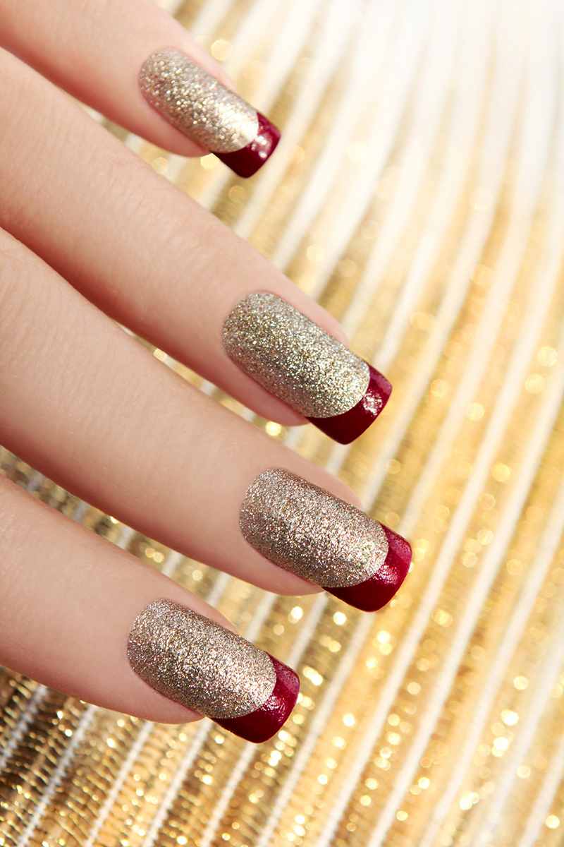 потом, перенеся красный френч с золотом на ногтях фото тех, кто любит