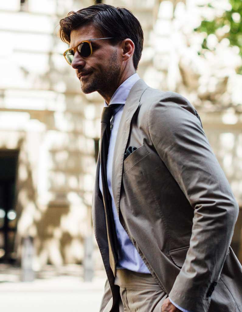 Мужская стрижка 2018 деловая