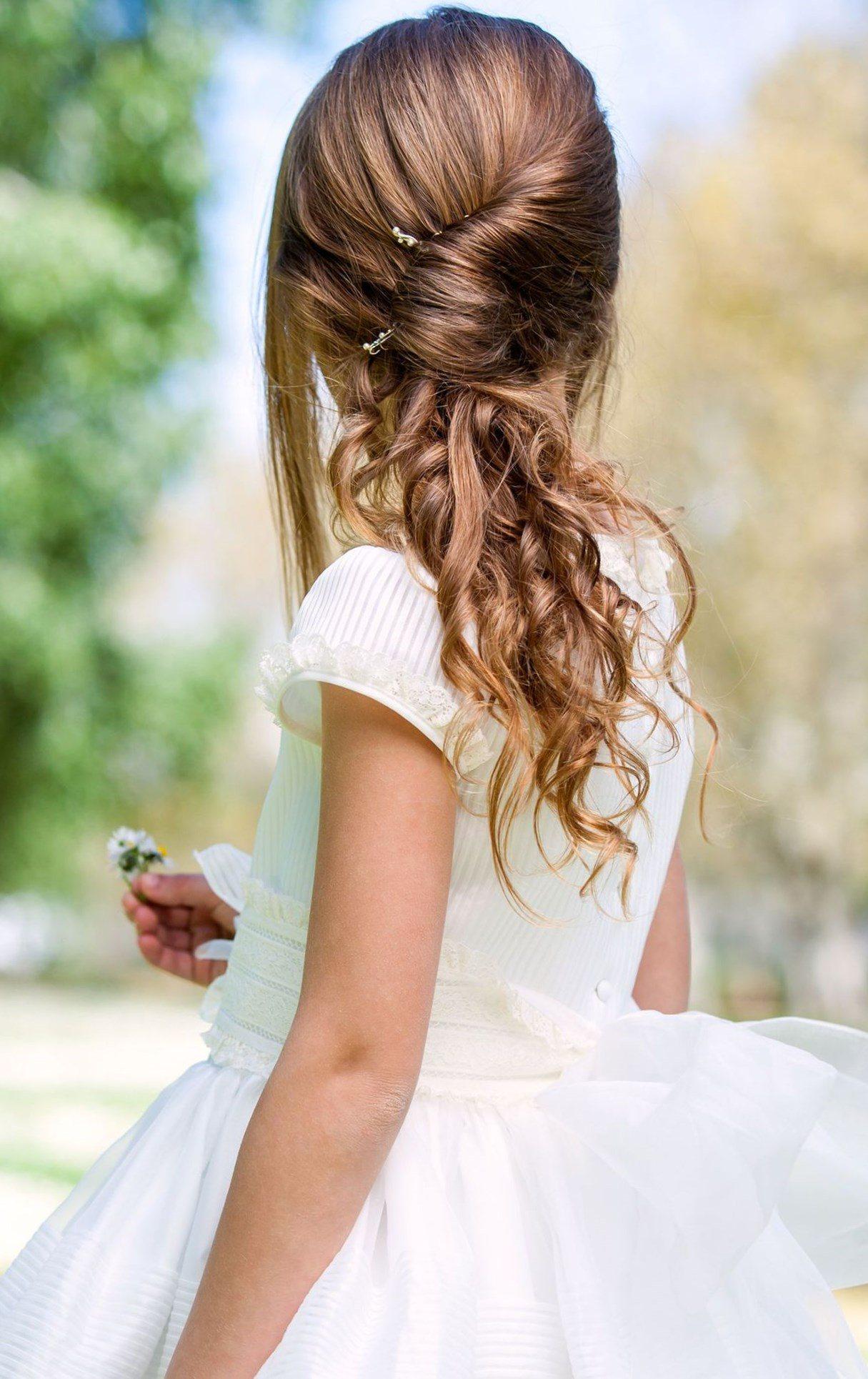 Свадебная прическа 2018 на длинные волосы с ракушкой
