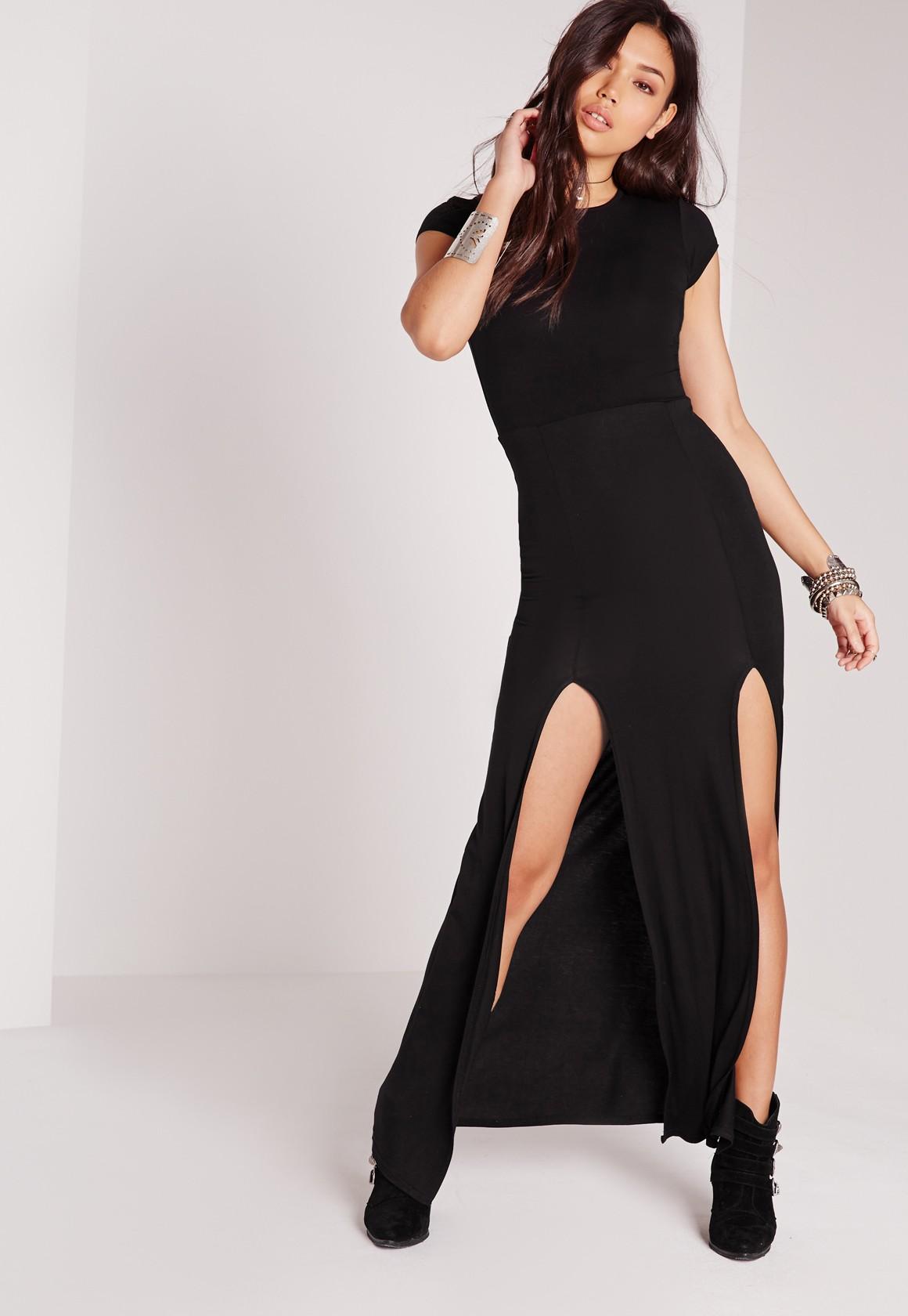 Платье с двумя разрезами