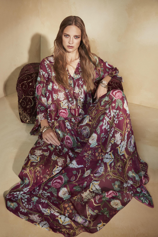 Шелковое платье фиолетовое