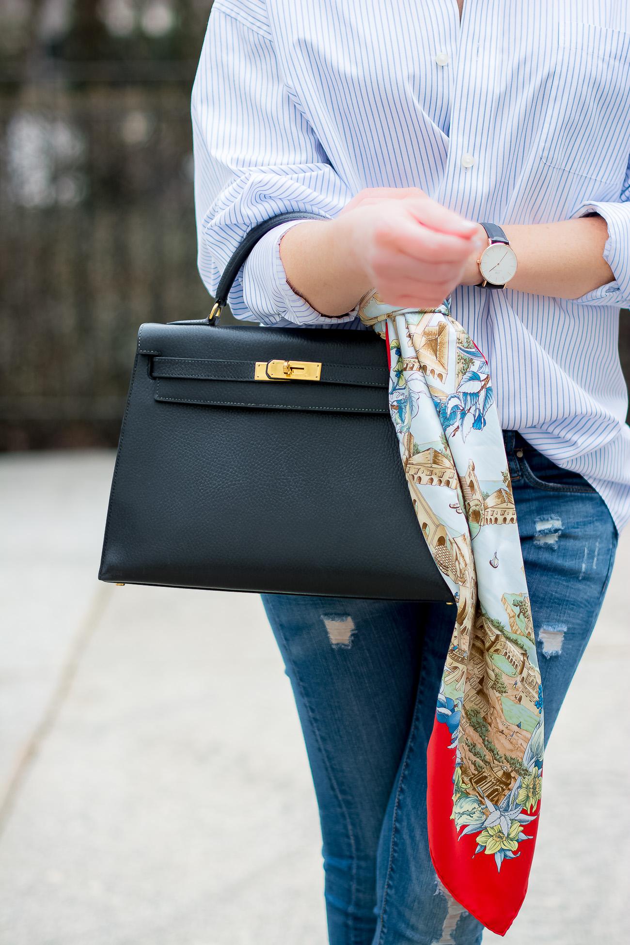 Классическая сумка Hermes