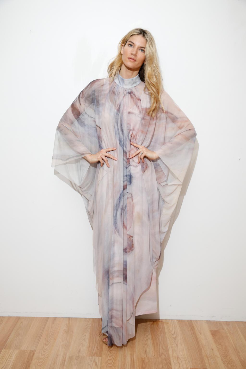 Платье из китайского шелка