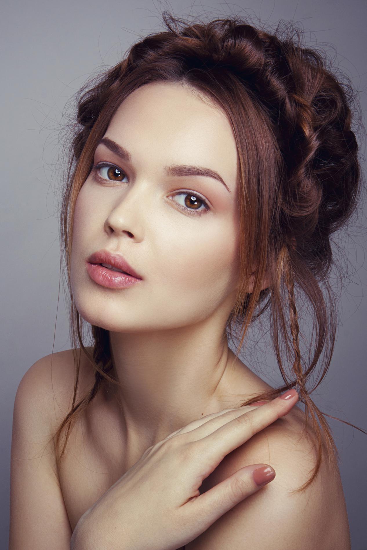 Нюдовый макияж для светлой кожи