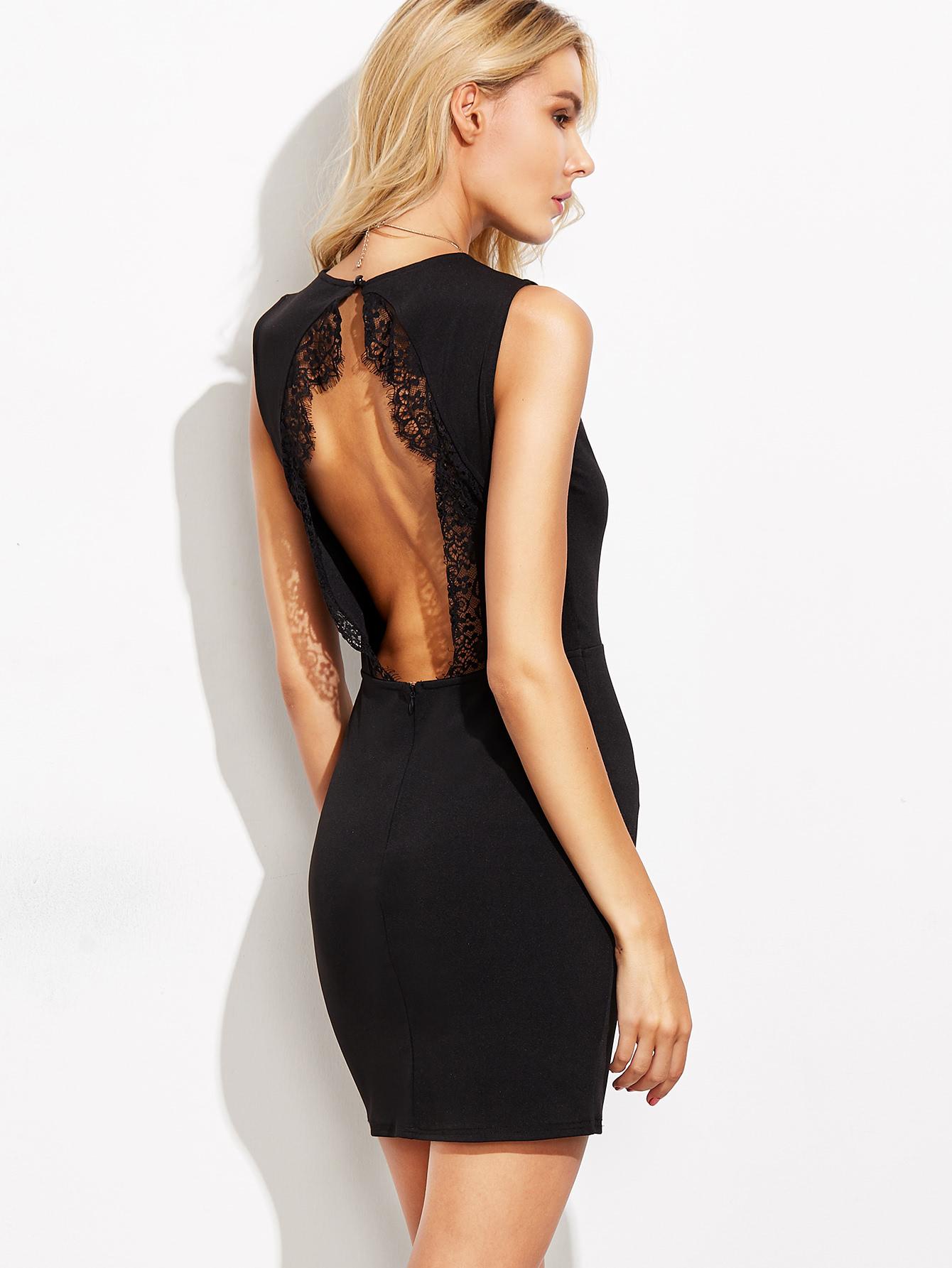 Платье футляр кружевное