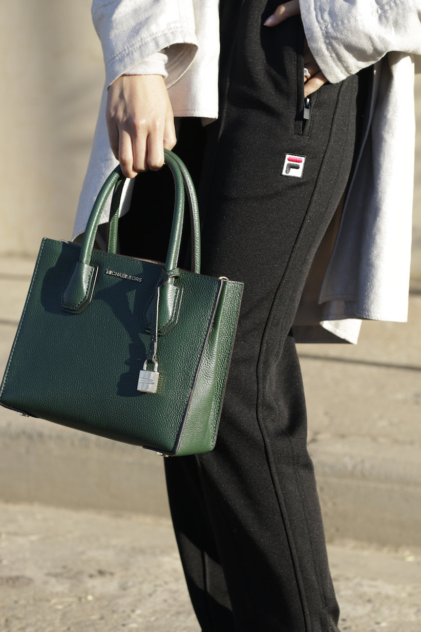 Классическая сумка квадратная