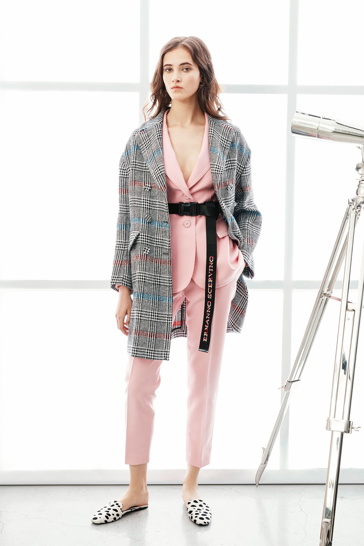 Платье пиджак в гусиную лапку