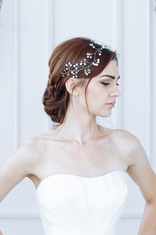 Свадебная прическа 2018 легкая