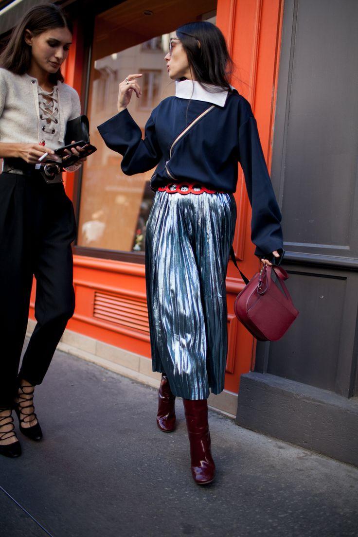Бордовая сумка модная