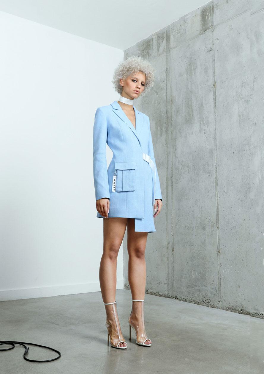 Платье пиджак модное