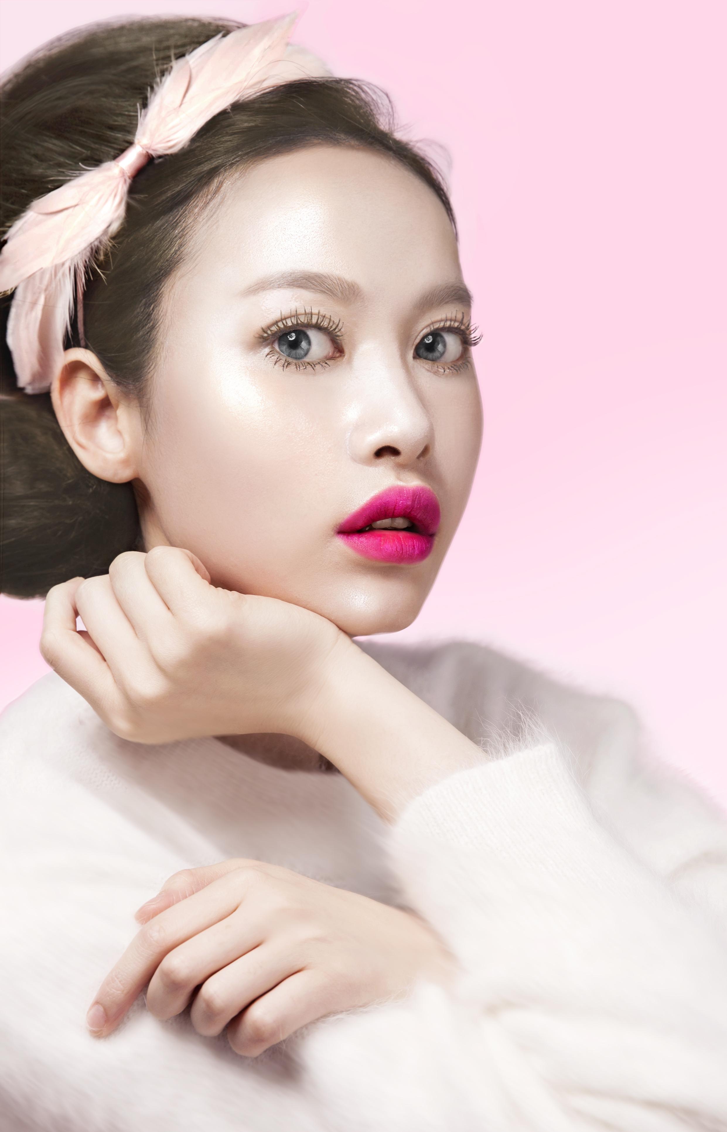 Корейский макияж неоновый