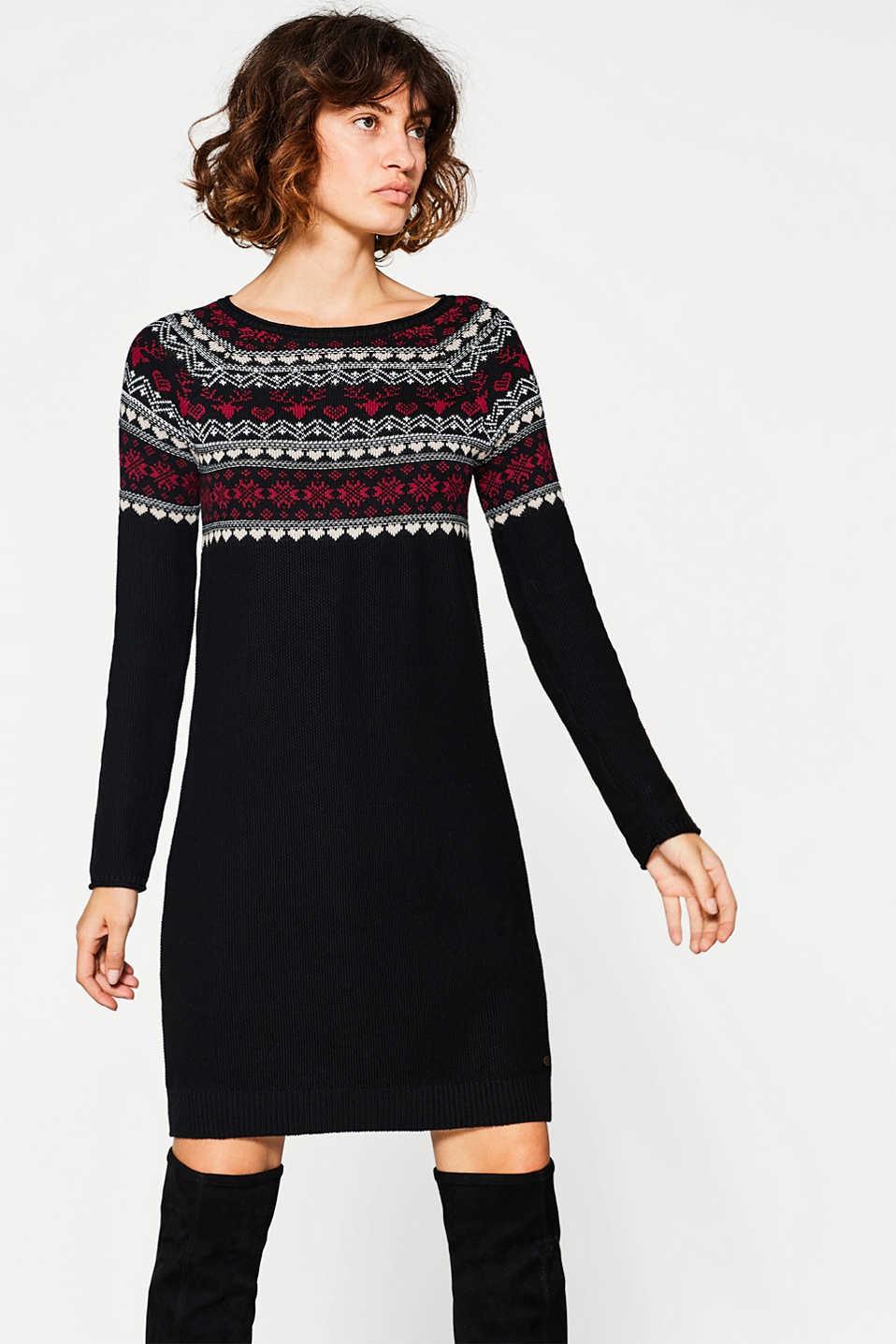 Платье вязаное норвежское