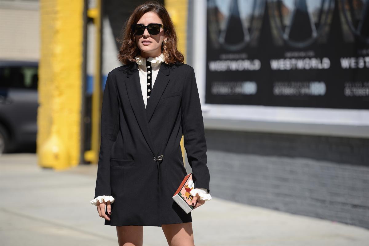 Платье пиджак офисное