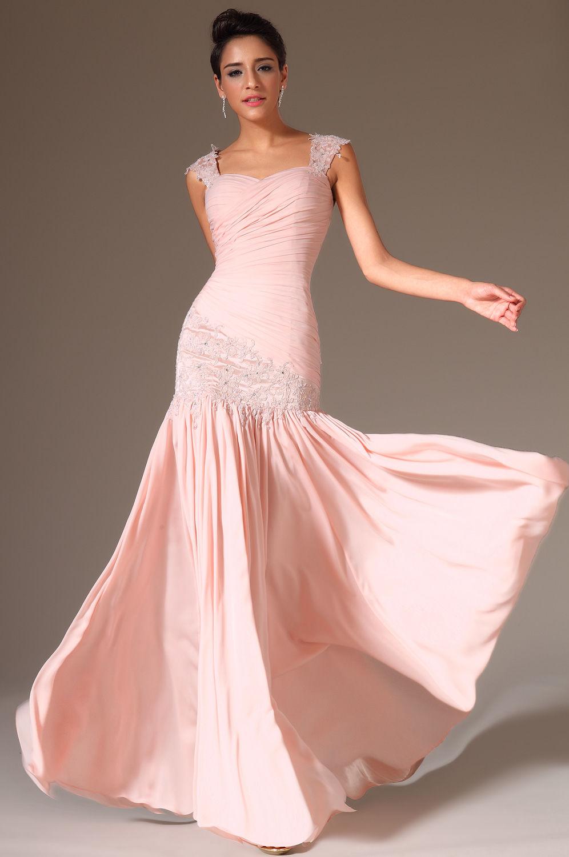 Шелковое платье в пастельных тонах