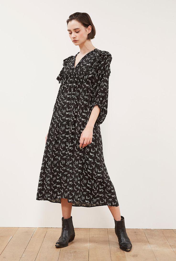 Шелковое платье повседневное