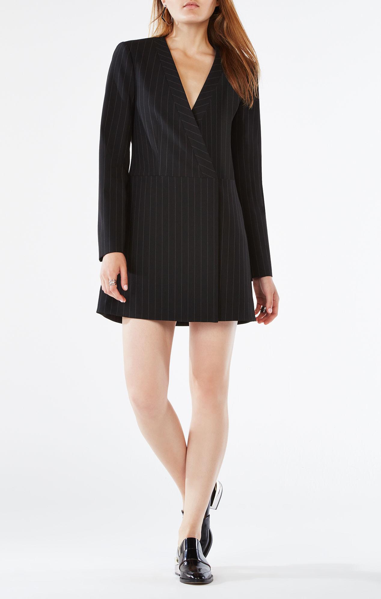 Платье пиджак приталенное