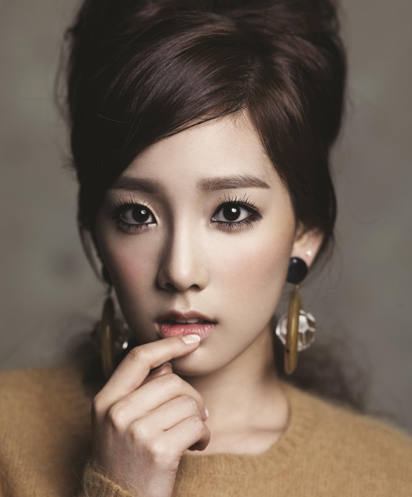 Корейский макияж с накладными ресницами