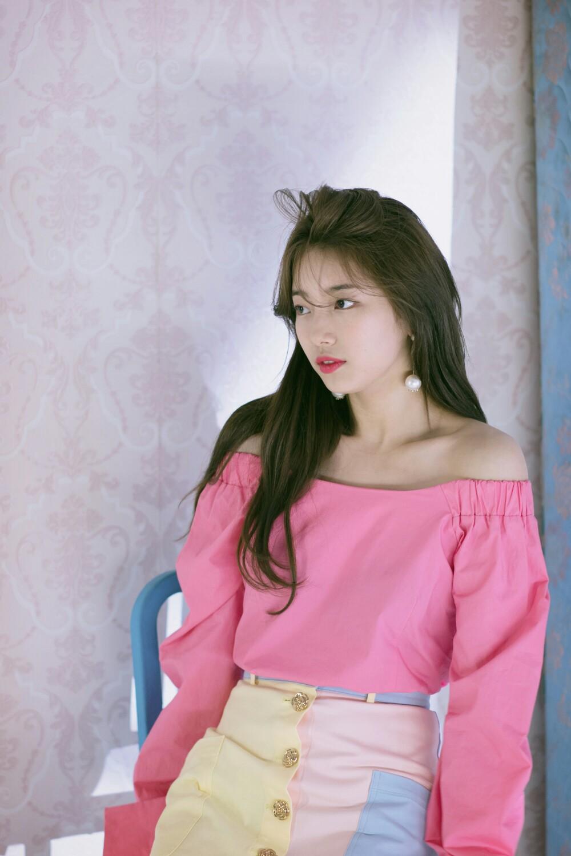Корейский макияж с розовыми губами