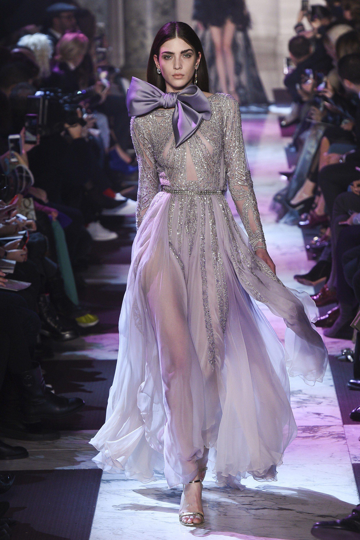 Платье из шифона серебряное