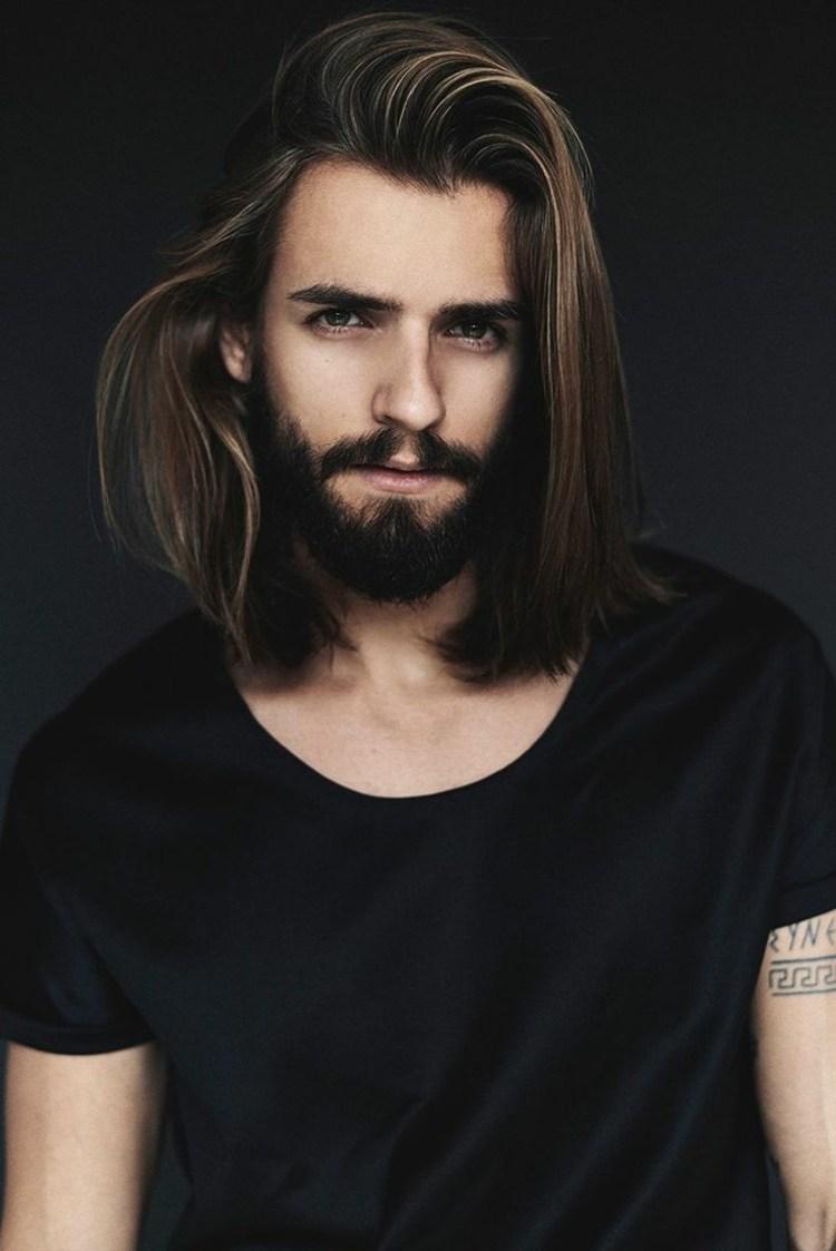 Мужская стрижка 2018 на средние волосы