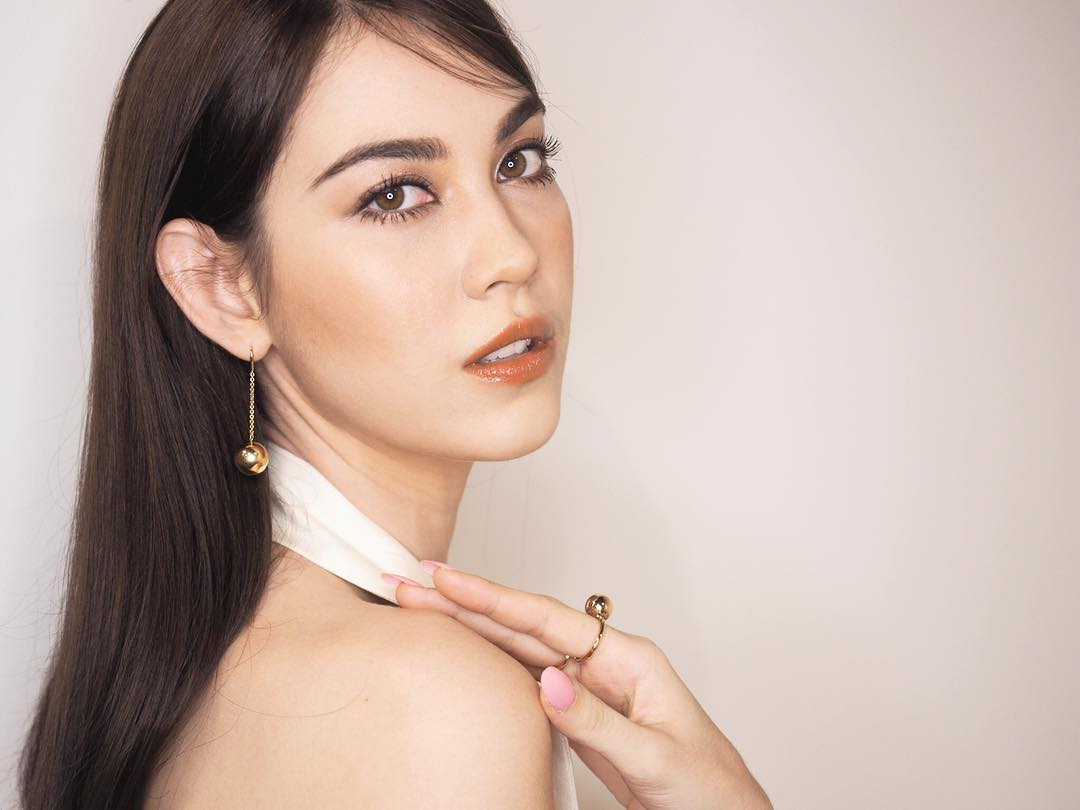 Корейский макияж теплых тонов