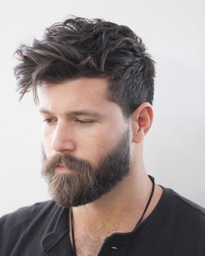 Мужская стрижка 2018 с усами