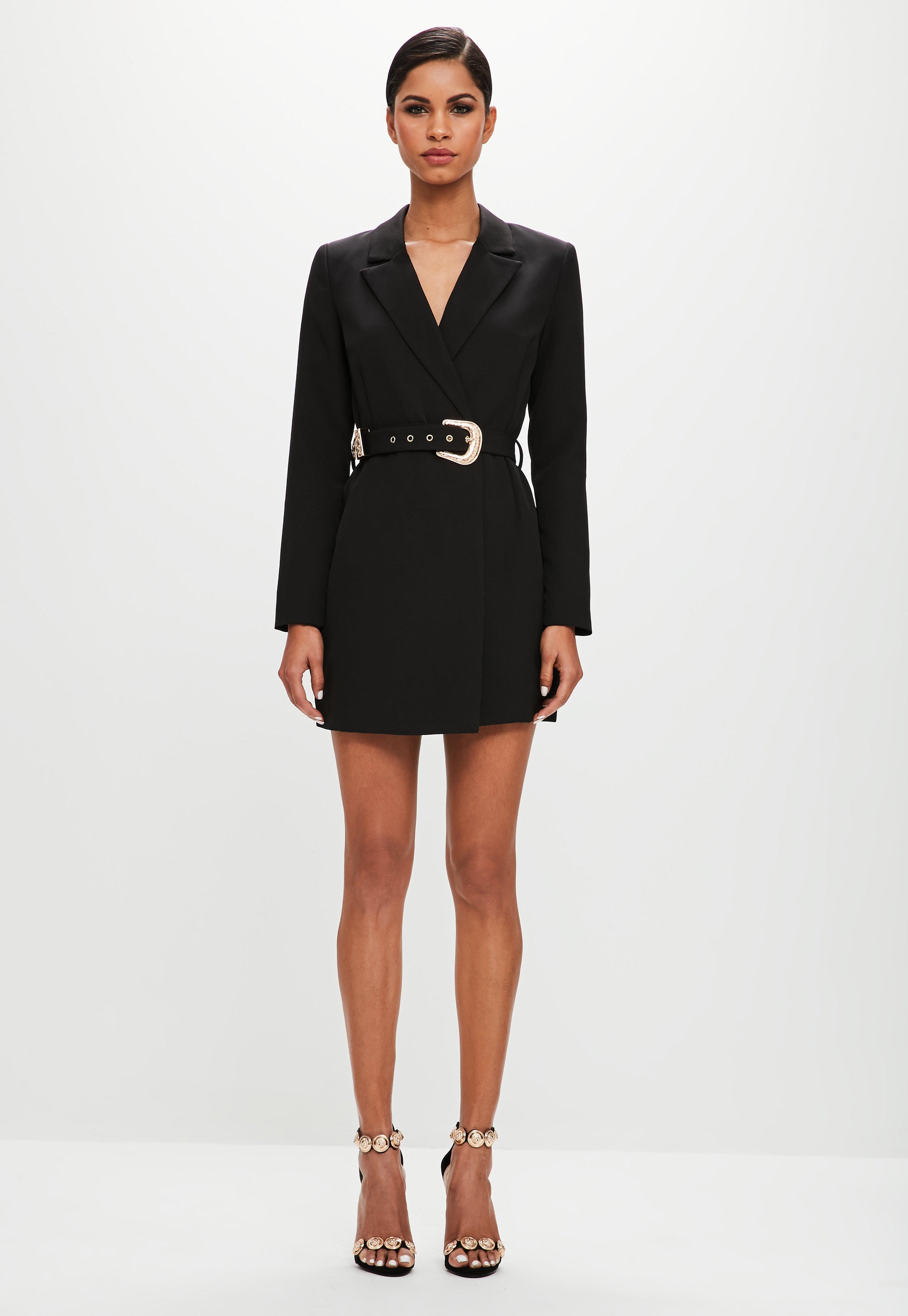 Платье пиджак с запахом