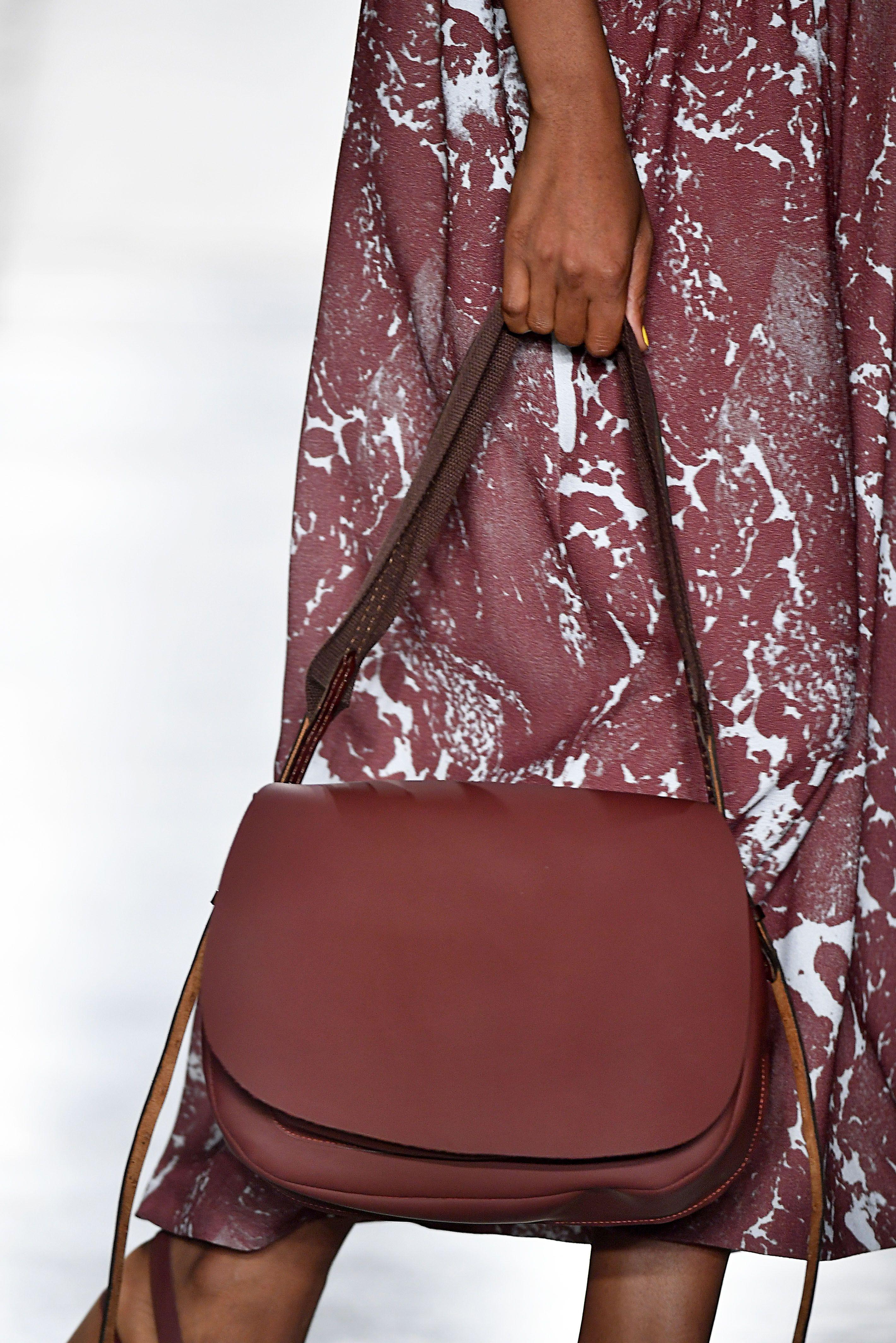 Бордовая сумка женская