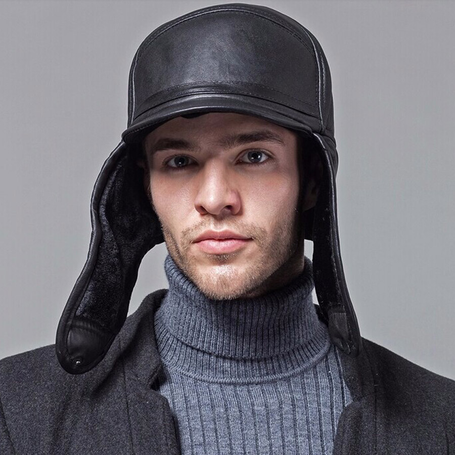 Кепка мужская зимняя