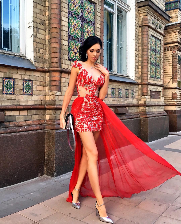 Платье трансформер асимметричное