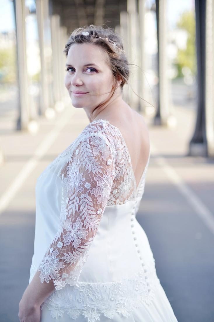 Свадебное платье для полных ажурное
