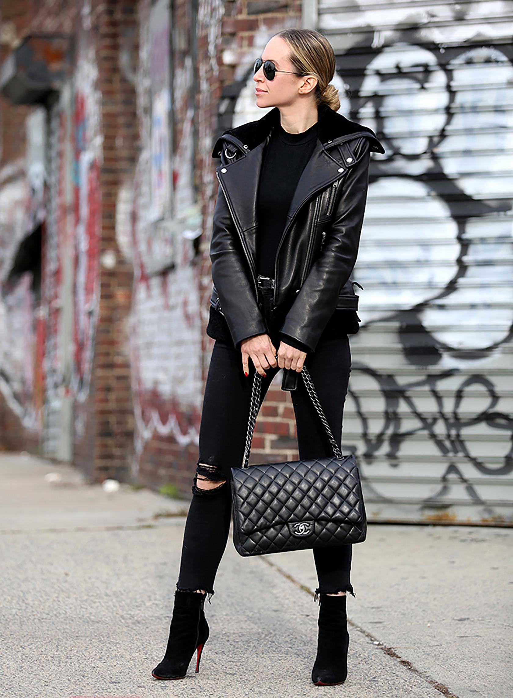 Кожаная сумка женская Chanel