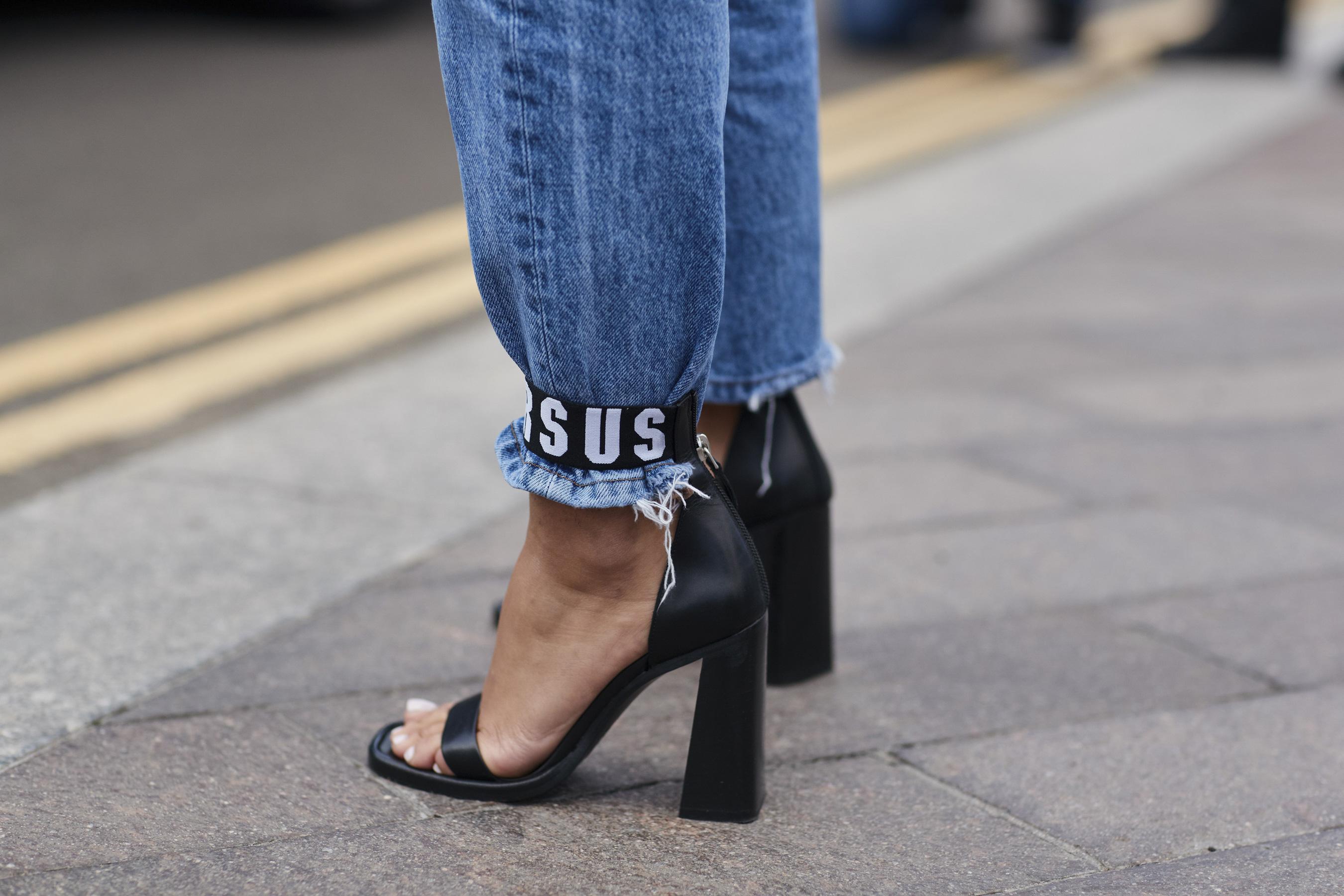 Туфли 2018 черные кожаные