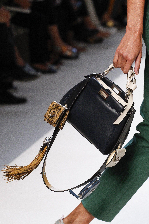Fendi весна лето 2018 классическая сумка