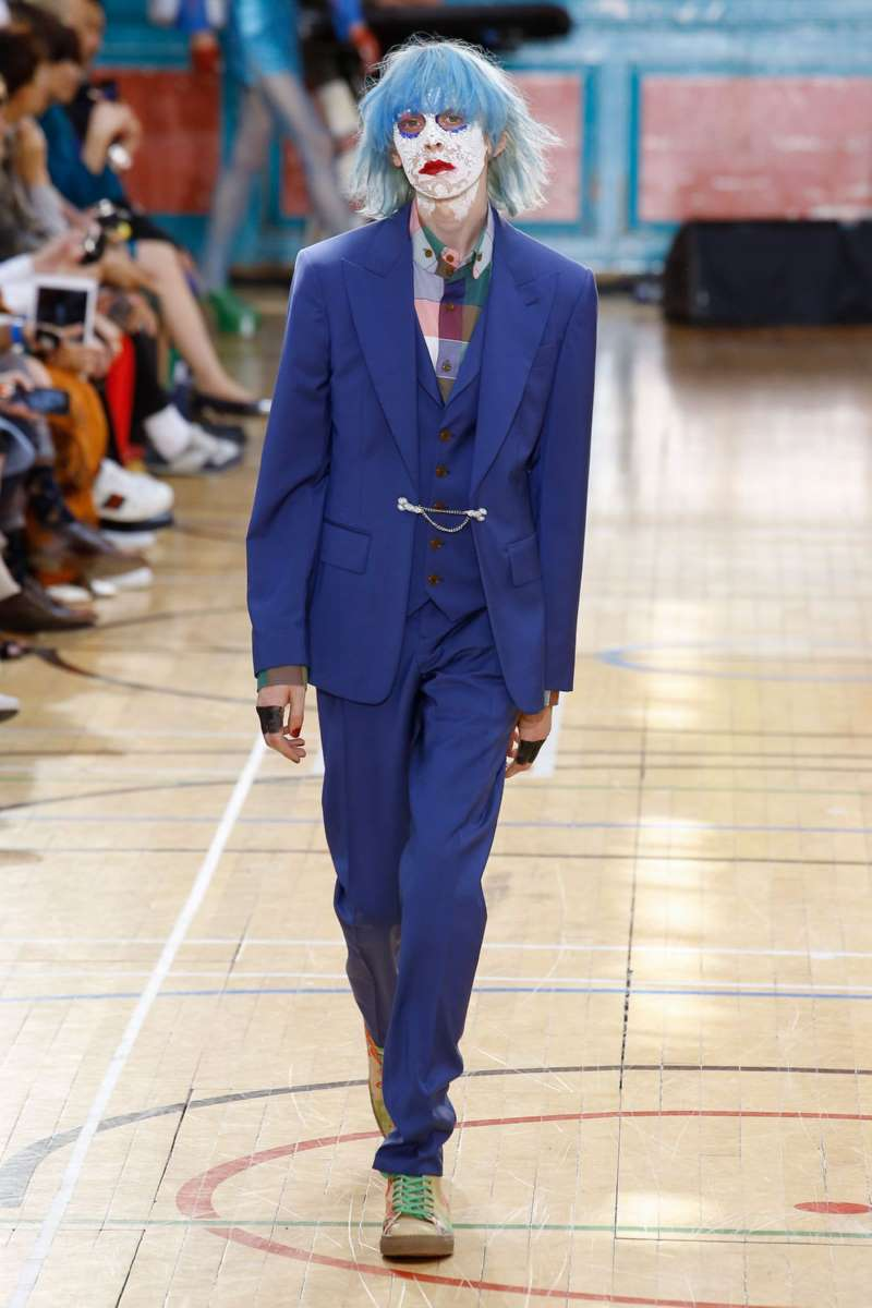 Vivienne Westwood весна лето 2018 классический костюм
