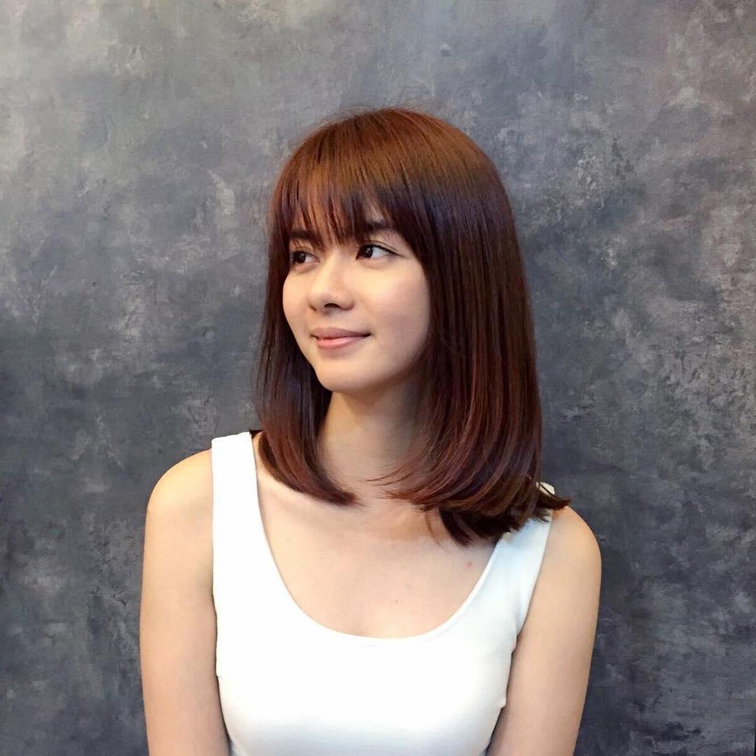 Коричневые цвета волос фото два