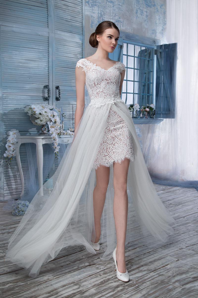 Платье трансформер с фатином